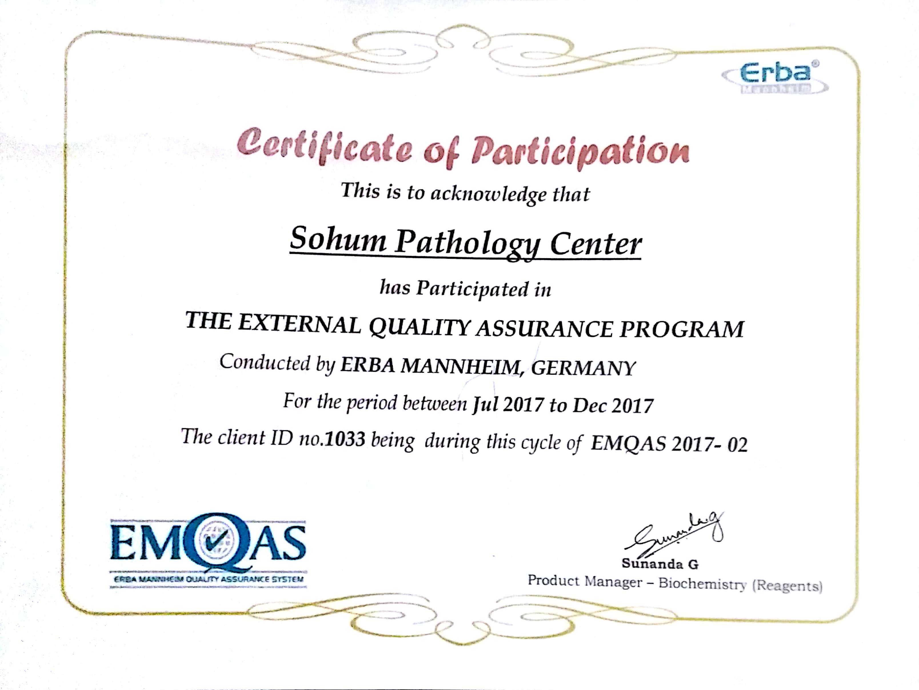 Achievement - Sohum Health Care Centre